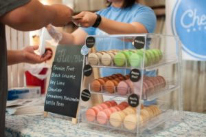Successfully sold macarons
